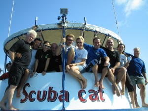 Vacany for  Instructor at Scuba Cat Diving, Phuket Thailand