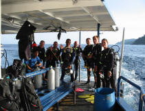 Scuba Cat Diving Phuket Thailand MV Scuba cat