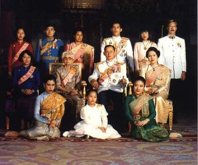 Thailand Royal Family