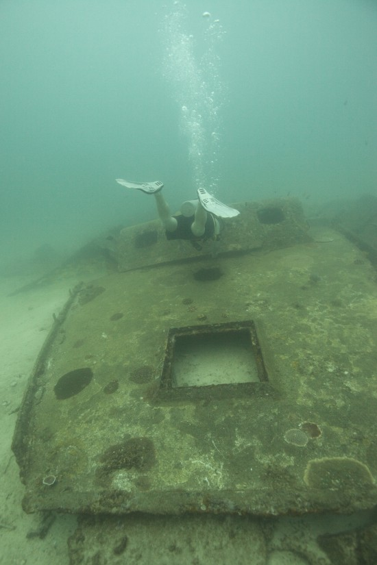 Scuba Cat Diving Phuket Thailand  Wreck Speciality