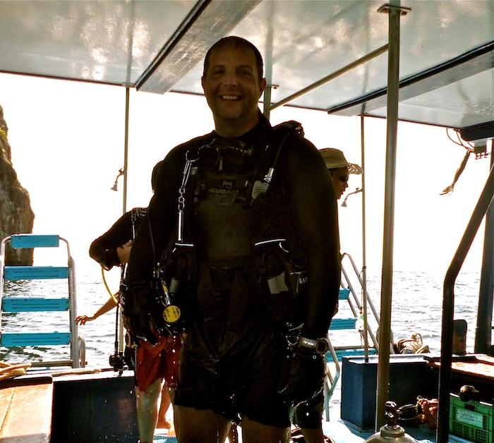 Scuba Cat Diving Phuket Thailand Congratulations Bryan!