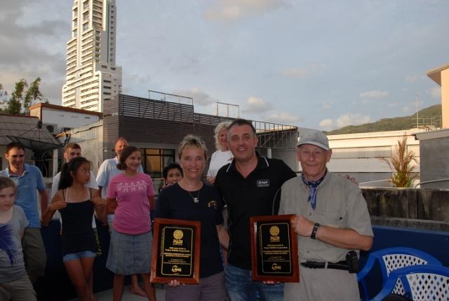 Scuba Cat Diving Phuket Thailand  & Project Aware Award