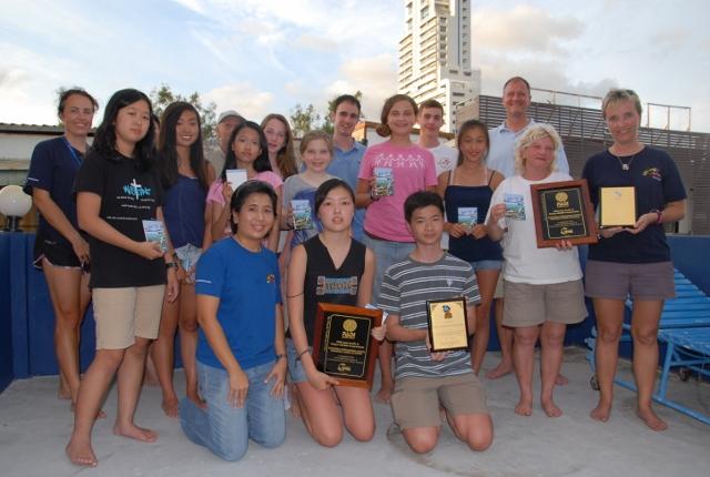 Scuba Cat Diving Phuket Thailand and Concordia international School Shanghai