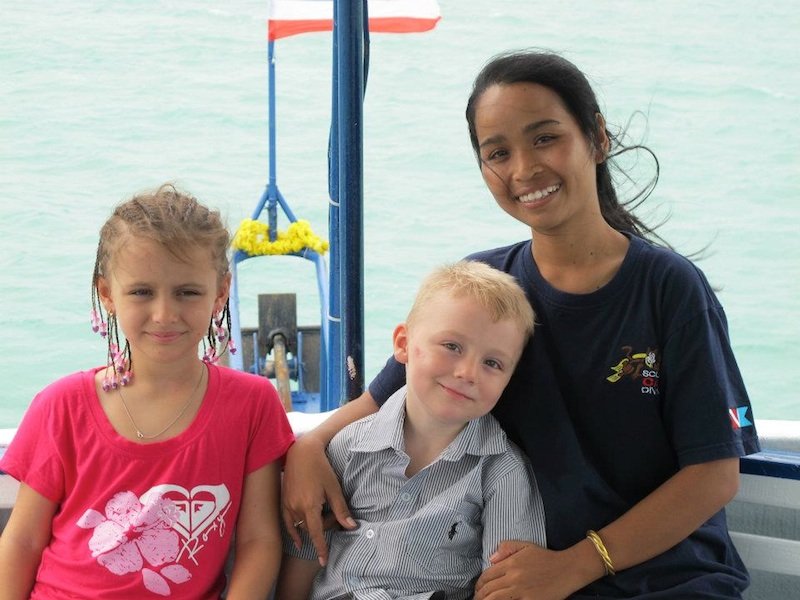 Scuba Cat Diving Phuket Thailand Sand Sean and Kayla