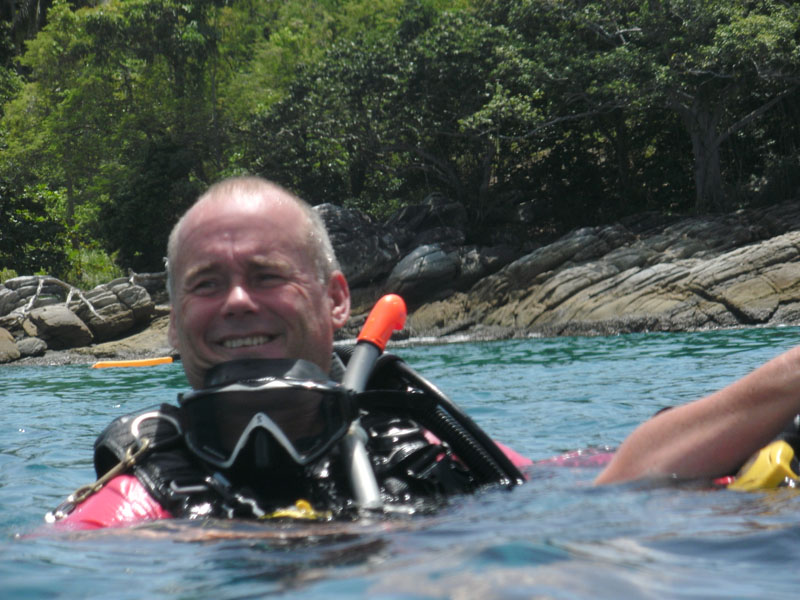 Scuba Cat Diving Phuket Thailand  Rescue Course