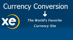 Currency Conversion from XE